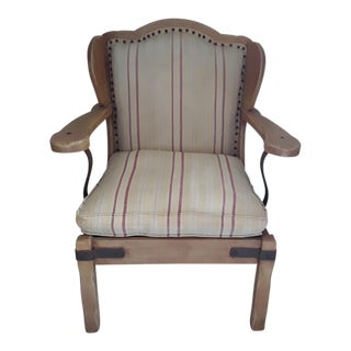 1930's Antique Monterey Furniture Early California Stuffed Chair