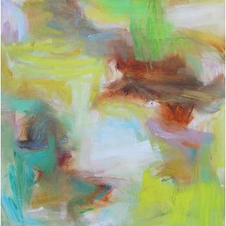 """""""Appalachian Spring"""" Large Abstract Expressionist Oil Painting For Sale"""