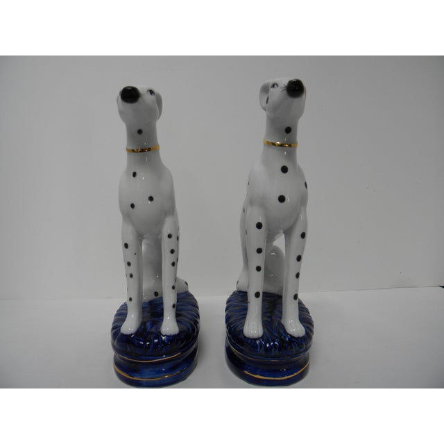Figurative Staffordshire Style Dalmatian Bookends - a Pair For Sale - Image 3 of 10