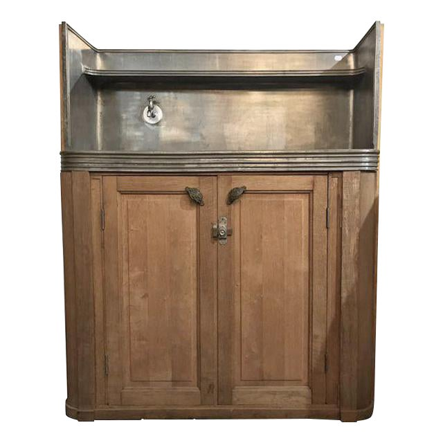 Antique French Butler's Pantry Bar For Sale