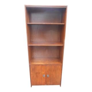 1960's Mid-Century Modern Walnut Book Shelf For Sale