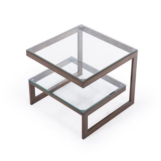 Modern Blink Home Side Table For Sale - Image 3 of 5