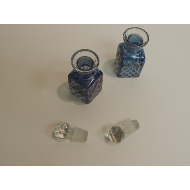 Antique French Crystal Perfume Bottles - A Pair - Image 4 of 4
