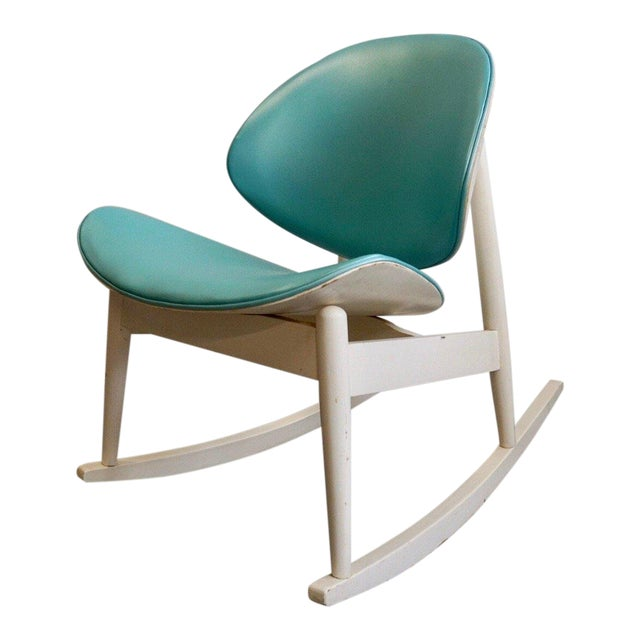 Mid Century Modern Kodawood Rocking Chair For Sale