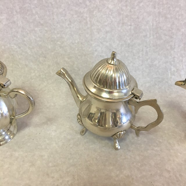 Late 20th Century Vintage Miniature Tea Pots- a Set of 6 For Sale - Image 5 of 10