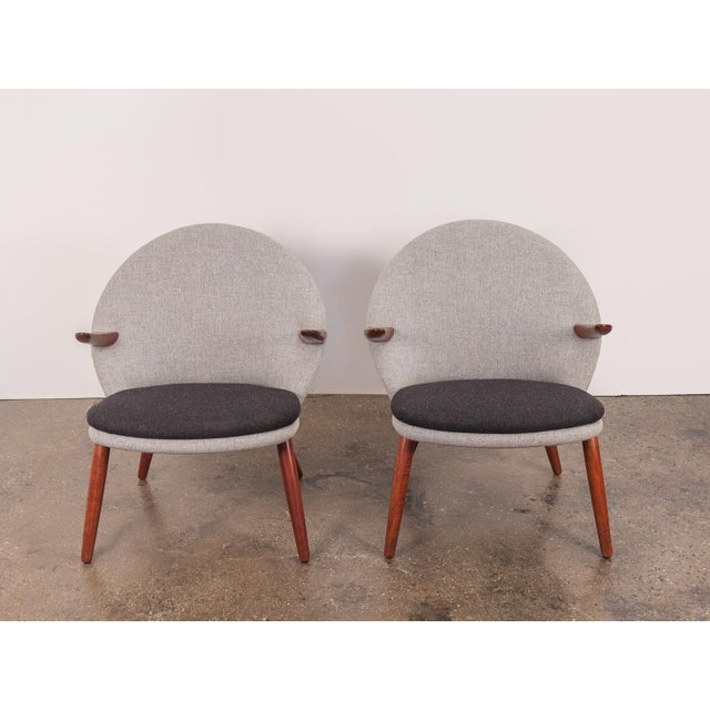 Glostrup Møbelfabrik Kurt Olsen Easy Chairs - a Pair For Sale - Image 4 of 11