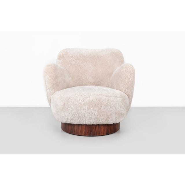Directional Set of Vladimir Kagan for Directional Swivel Chairs For Sale - Image 4 of 12