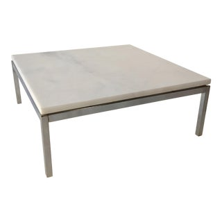 Knoll marble table