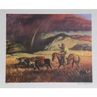 Duane Bryers, Rainbow's End, Lithograph For Sale