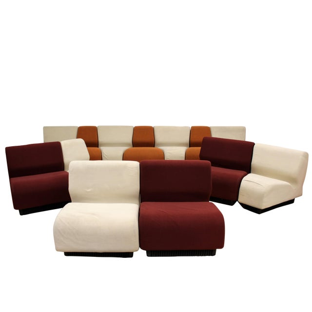 Mid-Century Modern Never Ending Sectional Sofa by Don Chadwick for Herman Miller For Sale