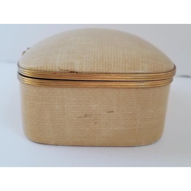 1960s Vintage Chamart Limoges Trinket Box For Sale - Image 5 of 12