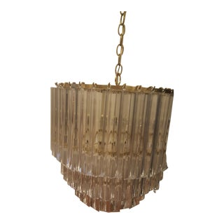 Mid-Century Modern Lucite Chandelier For Sale