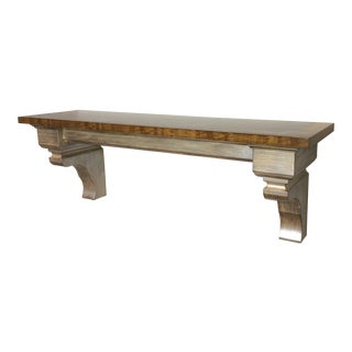 Custom Wall Mounted Console Mantle