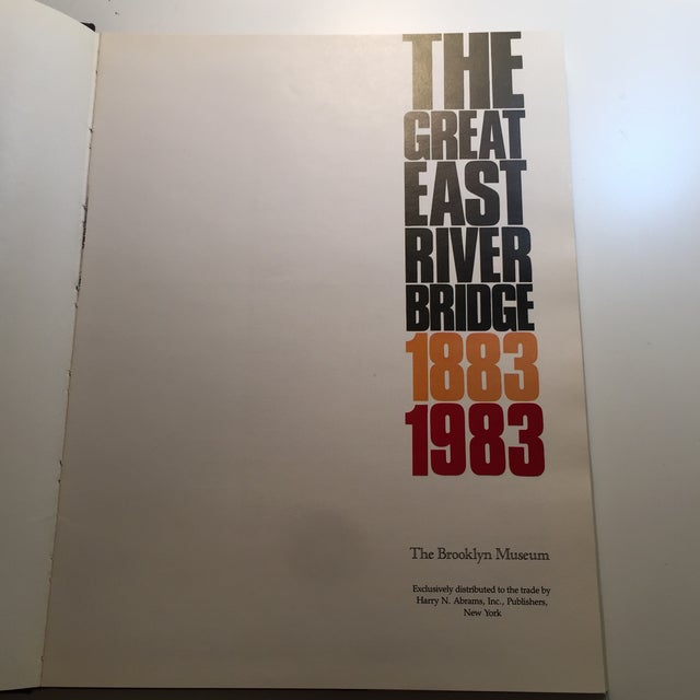 1883-1983 The Great East River Bridge Book For Sale - Image 4 of 11