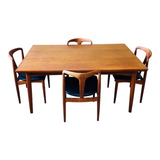 Mid-Century Danish Teak Dining Set