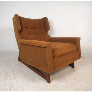 Midcentury Adrian Pearsall Style Lounge Chair and Ottoman by Weiland Preview