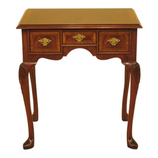 Queen Anne Hickory Chair Co. Figural Mahogany Lowboy For Sale