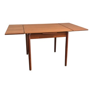 Danish Teak Draw Leaf Table