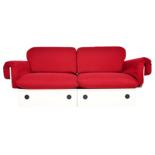 Danish Modern Model 213/2 Space Age Loveseat by France and Son For Sale
