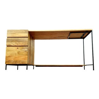 West Elm Modular Desk For Sale