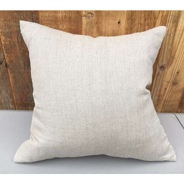 2020s Indian Hand Blocked Pillow For Sale - Image 5 of 6