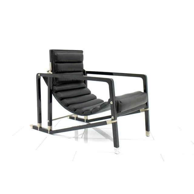 Eileen Gray Transat Lounge Chair by Ecart International, 1980s For Sale - Image 10 of 10