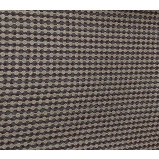 Contemporary Neutral Woven Pattern Wallcovering For Sale