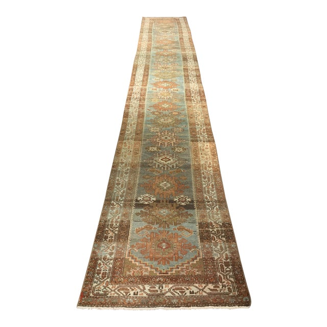 Antique Persian Malayer Runner - 2′10″ × 19′ - Image 1 of 11