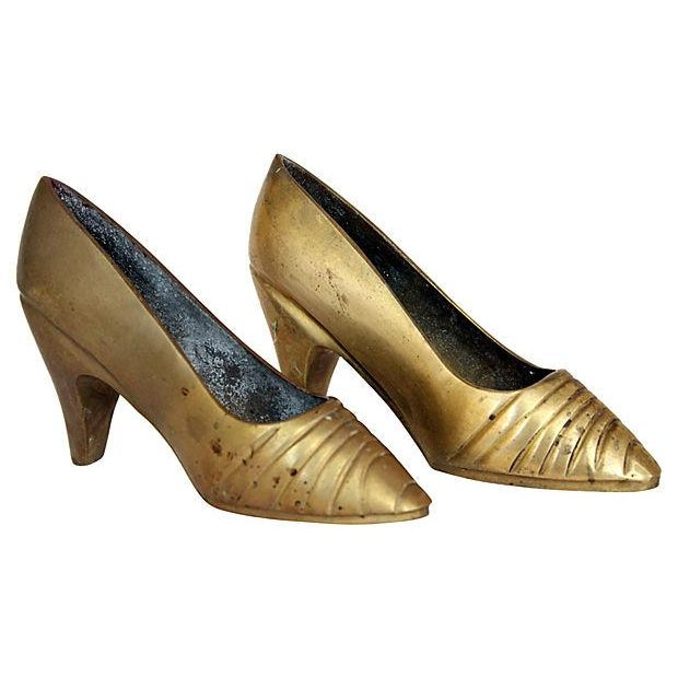 Brass High Heels - Pair - Image 1 of 2