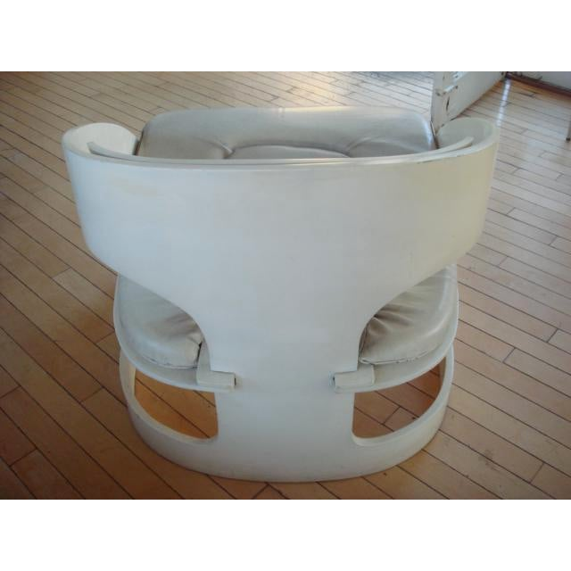 Joe Colombo Bent Plywood Chairs - A Pair For Sale - Image 5 of 7
