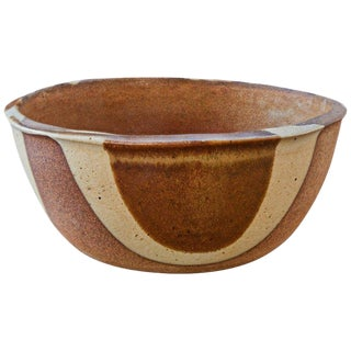 Large 1960s Vintage David Cressey Gourmet Ware Bowl for Architectural Pottery For Sale