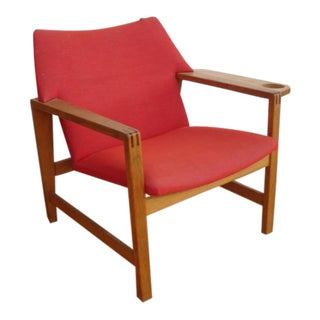 Danish Modern Lounge Chair Attributed to Vilhelm Wohlert for Stolefabrik For Sale
