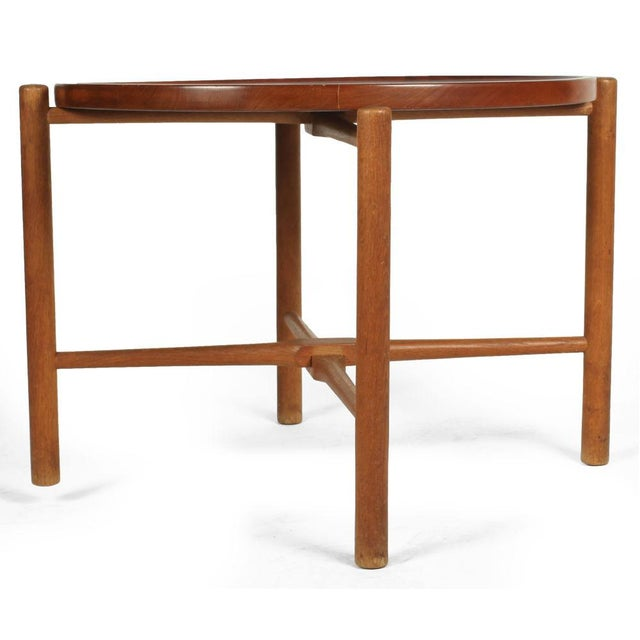 Hans Wegner Hans J. Wegner Knock Down Occasional Table For Sale - Image 4 of 7