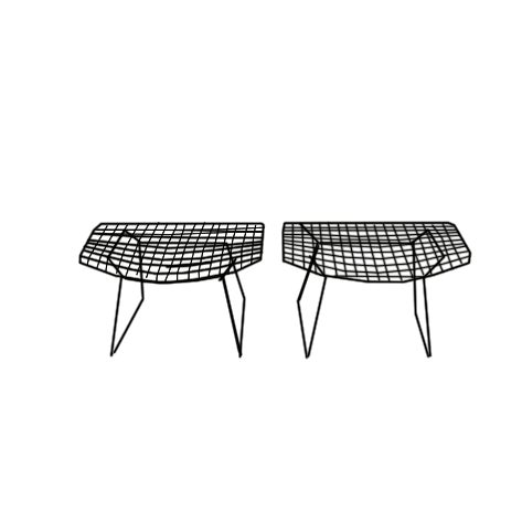 Knoll Bertoia Ottomans - One Left! - Image 1 of 5