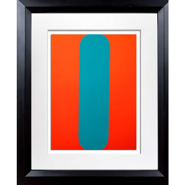 1960's Ellsworth Kelly Framed Lithograph For Sale