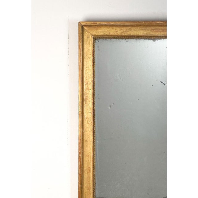 Gilt Wood Mirror France Circa 19th Century For Sale - Image 4 of 5
