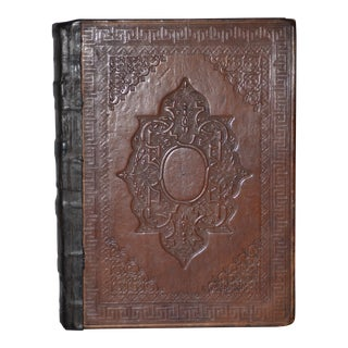 """Early 19th C. Hand Written Book """"Mary Stuart, a Tragedy in Five Acts"""" C.1816 For Sale"""