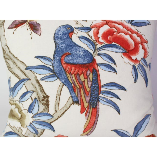 "Thibaut Custom Pillow Pair From Thibaut's ""Giselle"" Fabric For Sale - Image 4 of 7"