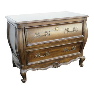 French Bombay Nightstand By Mount Airy Furniture For Sale