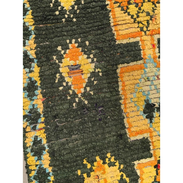 """Vintage Moroccan Rug, 3'10"""" X 7'5"""" For Sale In Phoenix - Image 6 of 10"""