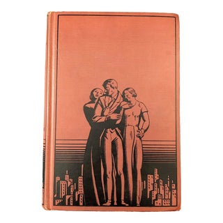 1930's Vintage Art Deco Book Decor For Sale