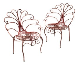 Image of Black Peacock Chairs