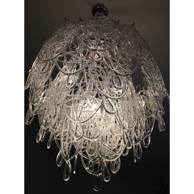 Contemporary Murano Glass Triedo Sputnik Chandelier For Sale - Image 6 of 8