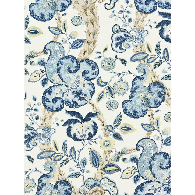 From the Scalamandre La Boheme Collection, Printed fabrics.