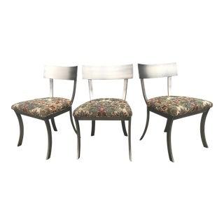 Design Institute of America Klismos Chairs- Set of 3 For Sale
