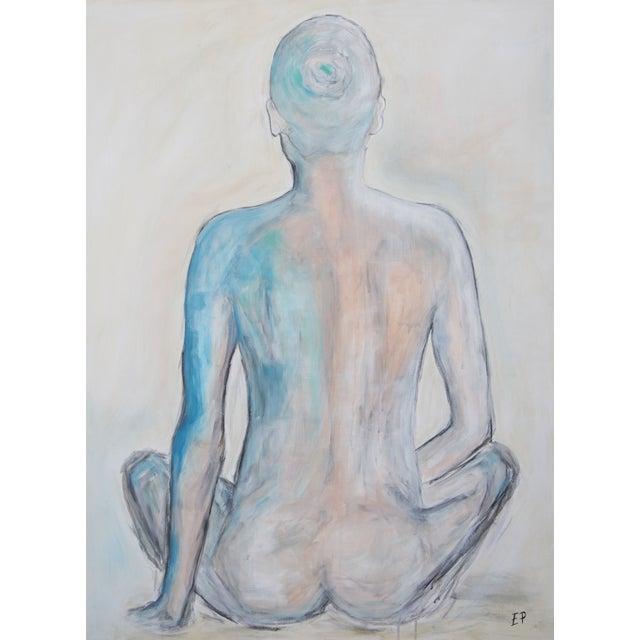 """Turquoise Figure"" - Image 1 of 5"