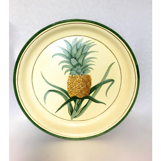 Hand-Painted Pineapple Serving Tray - Image 2 of 6