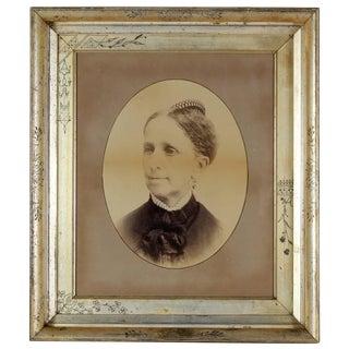 Unknown Antique Portrait Photograph of a Woman, Circa 1900s Circa 1900 For Sale