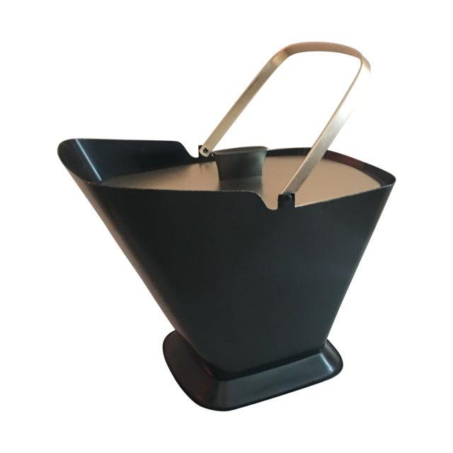 West Bend Retro Black & Gold Ice Bucket - Image 1 of 9