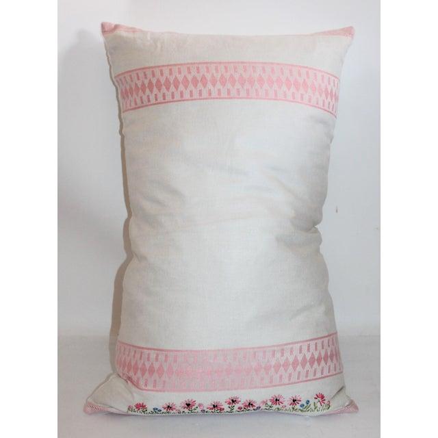 American Floral Tea Towel Pillow - Image 2 of 6